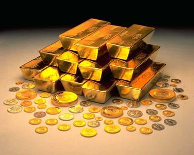 emas kekayaan